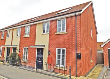 Thumbnail 2 bed end terrace house for sale in Tiller Way, Northampton