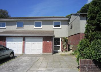 Thumbnail 4 bed semi-detached house to rent in Drakes Close, Derriford, Plymouth