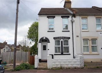 Thumbnail 3 bed terraced house for sale in Neville Road, Chatham