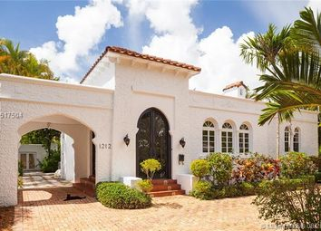 Thumbnail 3 bed property for sale in 1212 Obispo Ave, Coral Gables, Florida, United States Of America