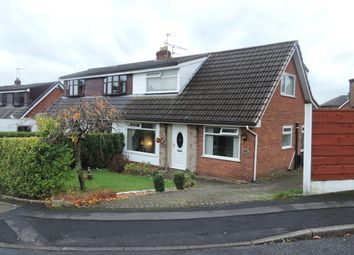 Thumbnail 4 bed semi-detached bungalow for sale in Alpine Drive, Royton, Oldham