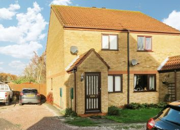 Thumbnail 2 bed semi-detached house for sale in The Causeway, Thurlby, Bourne