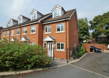 Thumbnail 3 bed town house for sale in Hindmarch Crescent, Hedge End, Southampton