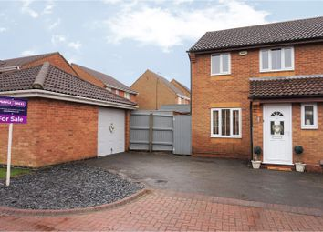 Thumbnail 3 bed semi-detached house for sale in Deene Close, Grimsby