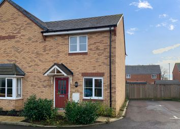 Thumbnail 2 bed semi-detached house for sale in Sandown Close, Barleythorpe, Oakham