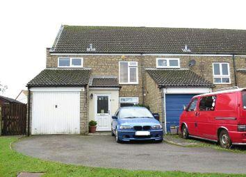 Thumbnail 3 bedroom end terrace house for sale in Bailiffs Close, Axbridge