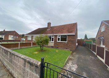 Thumbnail 2 bed semi-detached bungalow to rent in Lynbrook Road, Crewe, Cheshire