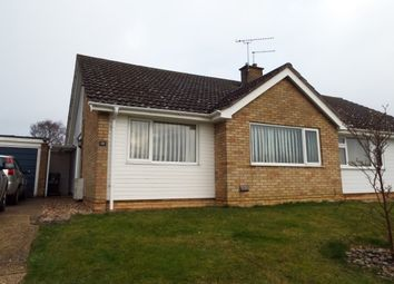 Thumbnail 2 bed bungalow to rent in Hoxne Close, Stowmarket