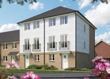 Thumbnail 4 bed semi-detached house for sale in Orchard Fields, Hermitage Lane, Maidstone