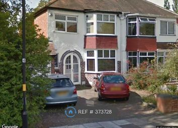 Thumbnail 3 bed semi-detached house to rent in Painswick Road, Birmingham