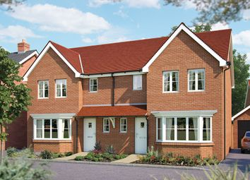 "Thumbnail 3 bed semi-detached house for sale in ""The Ewell"" at Winchester Road, Hampshire, Botley"