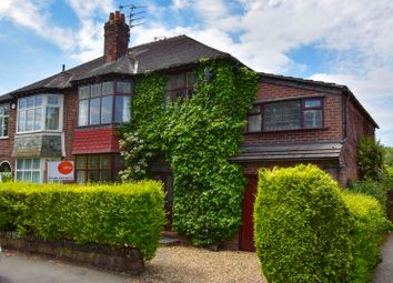 Thumbnail 4 bed semi-detached house to rent in Cecil Road, Hale