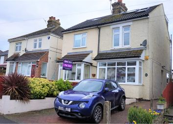 Thumbnail 3 bed semi-detached house for sale in Lunsford Lane, Aylesford
