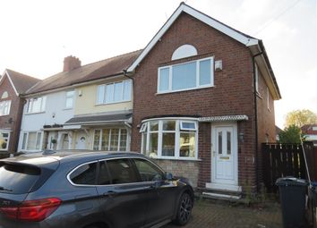 Thumbnail 3 bed semi-detached house to rent in Crew Road, Wednesbury