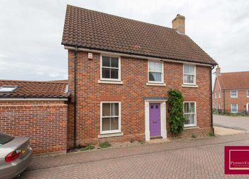 Thumbnail 4 bed link-detached house for sale in Porterbush Road, Mulbarton, Norwich