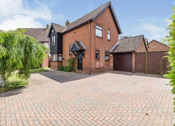 Thumbnail 3 bed detached house for sale in Blenheim Drive, Attleborough
