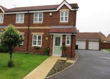 Thumbnail 3 bed semi-detached house for sale in Honley Wood Close, Bransholme, Hull