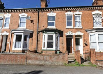 Thumbnail 2 bed terraced house to rent in Knox Road, Wellingborough
