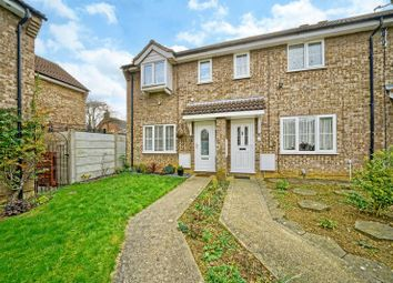 Thumbnail 3 bedroom end terrace house for sale in Alder Close, Eaton Ford, St. Neots