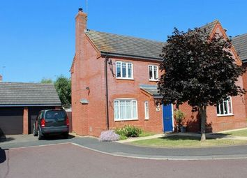 Thumbnail 4 bedroom detached house for sale in Mander Close, St Crispin, Northampton