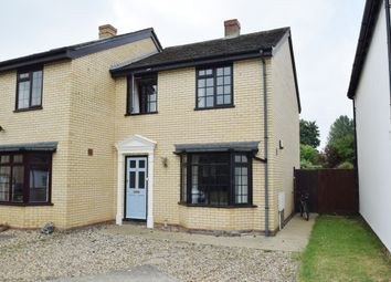 Thumbnail 3 bed semi-detached house to rent in Dairy Drive, Fornham All Saints, Bury St. Edmunds