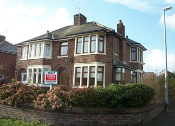 Thumbnail 3 bed semi-detached house to rent in Devonshire Rd, Blackpool