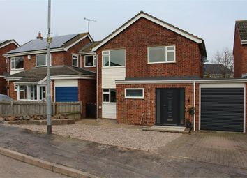 Thumbnail 3 bed detached house for sale in Merton Close, Broughton Astley, Leicester