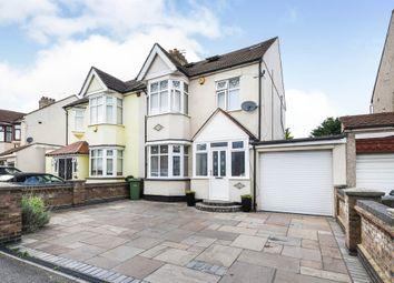 Thumbnail 4 bed semi-detached house for sale in Heath Park Road, Gidea Park, Romford