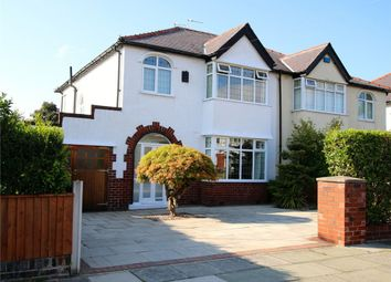 Thumbnail 3 bedroom semi-detached house for sale in Hillcrest Road, Crosby, Liverpool, Merseyside