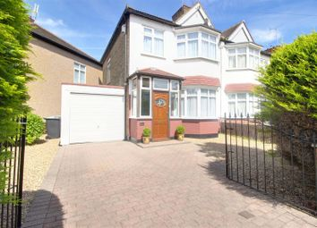 Thumbnail 3 bed semi-detached house for sale in Trinity Avenue, Enfield