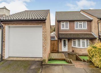 Emily Road, Walderslade, Chatham ME5. 3 bed end terrace house for sale