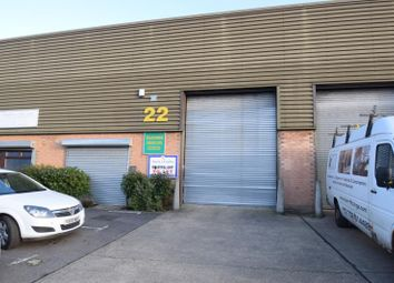 Thumbnail Industrial to let in Unit 22, Parkside Centre, Temple Farm Industrial Estate, Potters Way, Southend-On-Sea