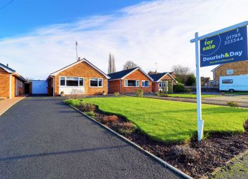 Thumbnail 3 bed detached bungalow for sale in Elm Close, Great Haywood, Stafford