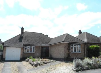 Thumbnail 3 bedroom detached bungalow for sale in Harrowgate Drive, Birstall, Leicester