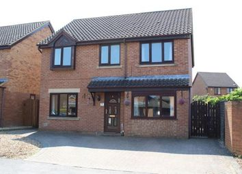 Thumbnail 4 bed detached house for sale in Ariel Close, Duston, Northampton, Northamptonshire