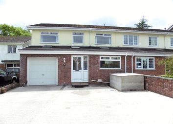 Thumbnail 5 bed semi-detached house for sale in Garth Close, Rudry, Caerphilly