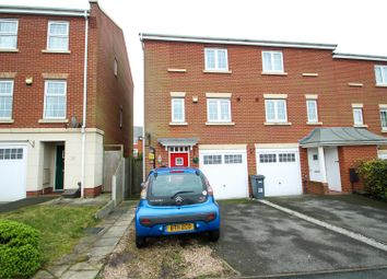 Thumbnail 3 bedroom town house for sale in Darwin Drive, Burslem, Stoke-On-Trent