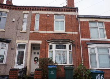 Thumbnail 3 bed terraced house for sale in Gulson Road, Coventry