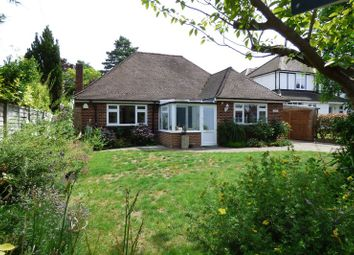 Thumbnail 3 bed detached bungalow for sale in Meadow Road, Claygate, Esher