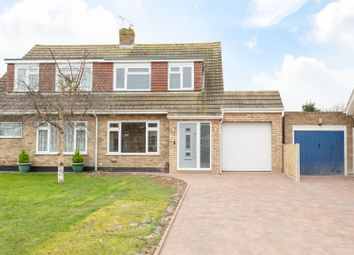 Thumbnail 3 bed semi-detached house for sale in Collingwood Close, Broadstairs