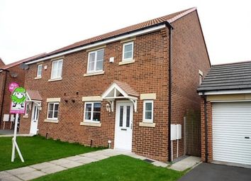 Thumbnail 3 bed semi-detached house for sale in Blackhaugh Drive, Seaton Delaval, Whitley Bay