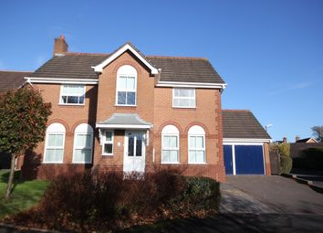 Thumbnail 4 bed detached house to rent in Hazelton Close, Solihull
