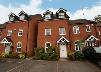 Thumbnail 4 bed town house for sale in Bisbrook Croft, Solihull