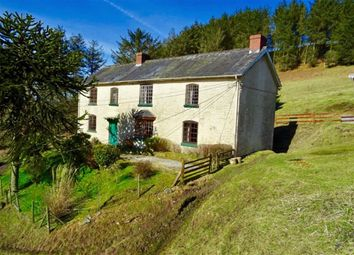 Thumbnail 4 bed farm for sale in Brynposteg, Llanidloes, Powys