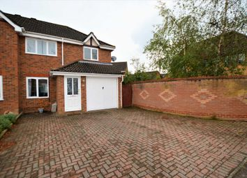 Thumbnail 3 bed semi-detached house for sale in Marigold Close, Horsford, Norwich