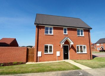 Thumbnail 3 bedroom semi-detached house to rent in Poppy Street, Wymondham