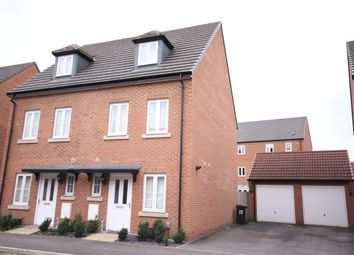 Thumbnail 3 bed semi-detached house to rent in Iris Crescent, Lincoln, Lincolnshire