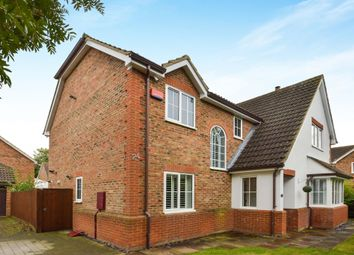 Thumbnail 5 bed detached house for sale in Britten Grove, Old Farm Park, Milton Keynes