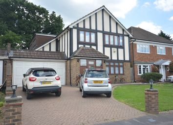 Thumbnail 4 bed detached house for sale in Dalewood Close, Emerson Park, Hornchurch