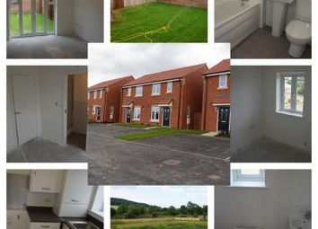 Thumbnail 2 bed terraced house to rent in Fieldfare Gardens, Taylor Wimpey Galley Hill Development, Guisborough